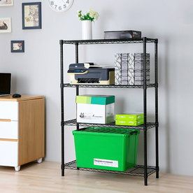 Style Selections 53-In H X 35.7-In W X 14-In D 4-Tier Ste...