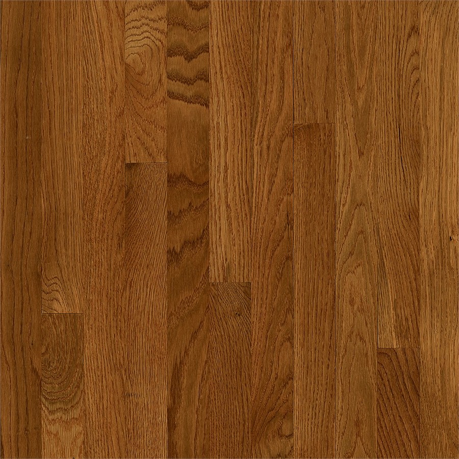 Frisco 2-1/4-in Wide x 3/4-in Thick Fawn Oak Smooth/Traditional Solid Hardwood Flooring (20-sq ft) in Brown | - Bruce SKFR29M20S