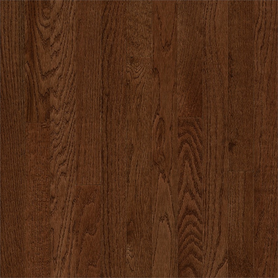 Frisco 3-1/4-in Wide x 3/4-in Thick Saddle Oak Smooth/Traditional Solid Hardwood Flooring (22-sq ft) in Brown | - Bruce SKFR39M40S
