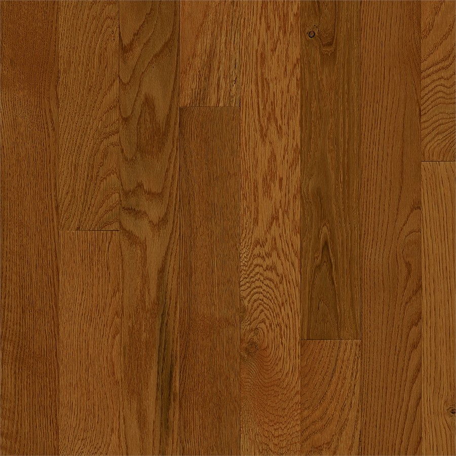 Frisco Prefinished Fawn Oak Smooth/Traditional 3/4-in Solid Hardwood Flooring Sample in Brown | - Bruce 731OLSKFR39M20S