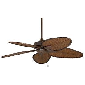 Fanimation Windpointe 52-In Rust Indoor/Outdoor Downrod M...