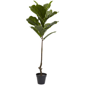 Nearly Natural 48-In Green Fiddle Leaf 5448