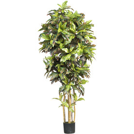 Nearly Natural 72-In Green Silk Tree 5211