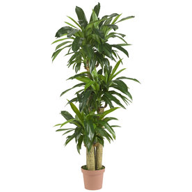Nearly Natural 57-In Green Silk Tree 6584