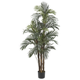 Nearly Natural 60-In Green Silk Tree 5283