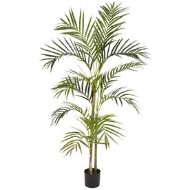 Nearly Natural 54-In Green Silk Tree 5314