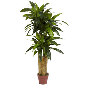 Nearly Natural 48-In Green Silk Tree 6648