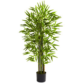 Nearly Natural 48-In Green Silk Tree 5384