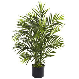 Nearly Natural 30-In Green Silk Tree 5387