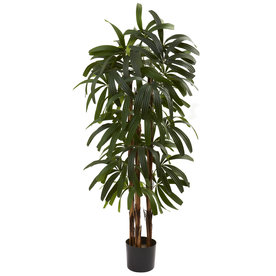 Nearly Natural 48-In Green Silk Tree 5401