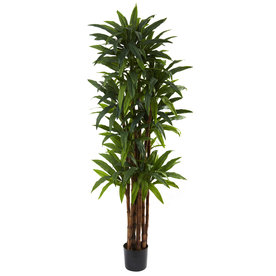 Nearly Natural 78-In Green Silk Tree 5403