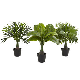 Nearly Natural 15.5-In Green Areca 6867-S3