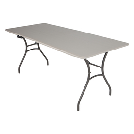 c42d70559eb Display product reviews for 72-in x 30-in Rectangle Plastic Folding Table