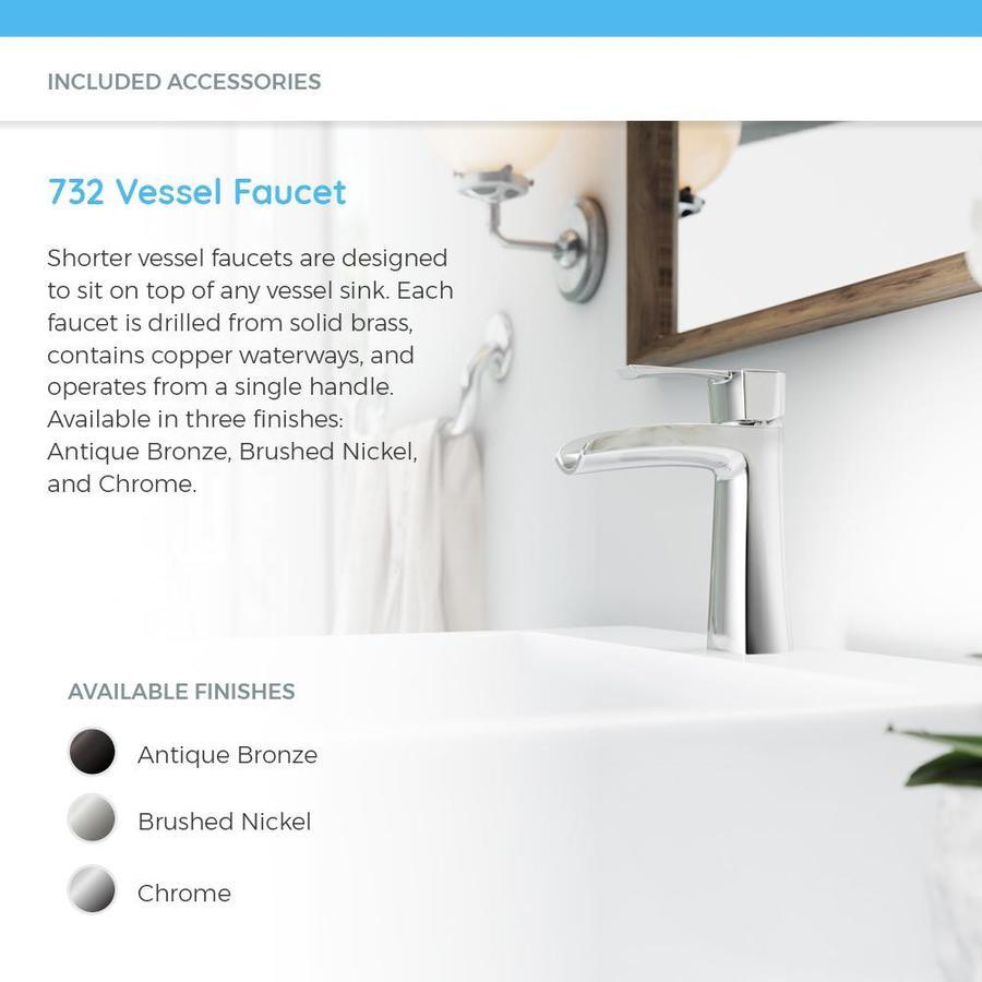 Bathroom Sinks Home & Garden MR Direct v260-b Bisque Porcelain ...