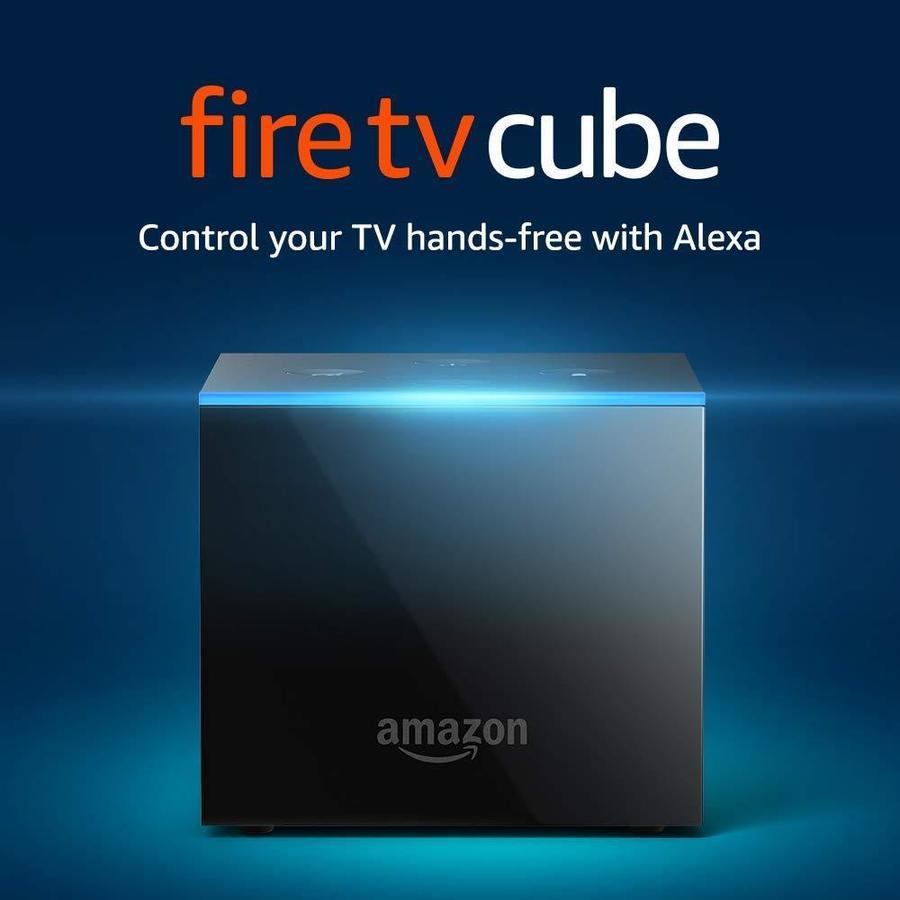Amazon Fire TV Cube Streaming Device in Black   B0791T9CV7