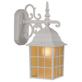 Wholeoutdoor Lights Shop outdoor wall lights at lowes display product reviews for 1437 in h sand white outdoor wall light workwithnaturefo