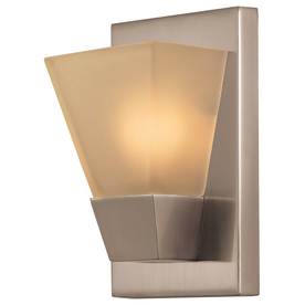 Display product reviews for 5.52-in W 1-Light Brushed nickel Pocket Wall Sconce  sc 1 st  Loweu0027s & Shop Wall Sconces at Lowes.com azcodes.com