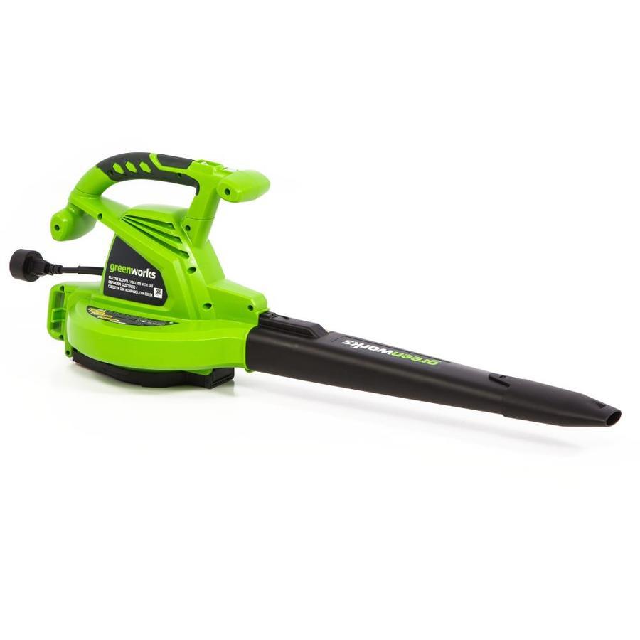 Shop Greenworks 12 Amp 380 Cfm 230 Mph Medium Duty Corded