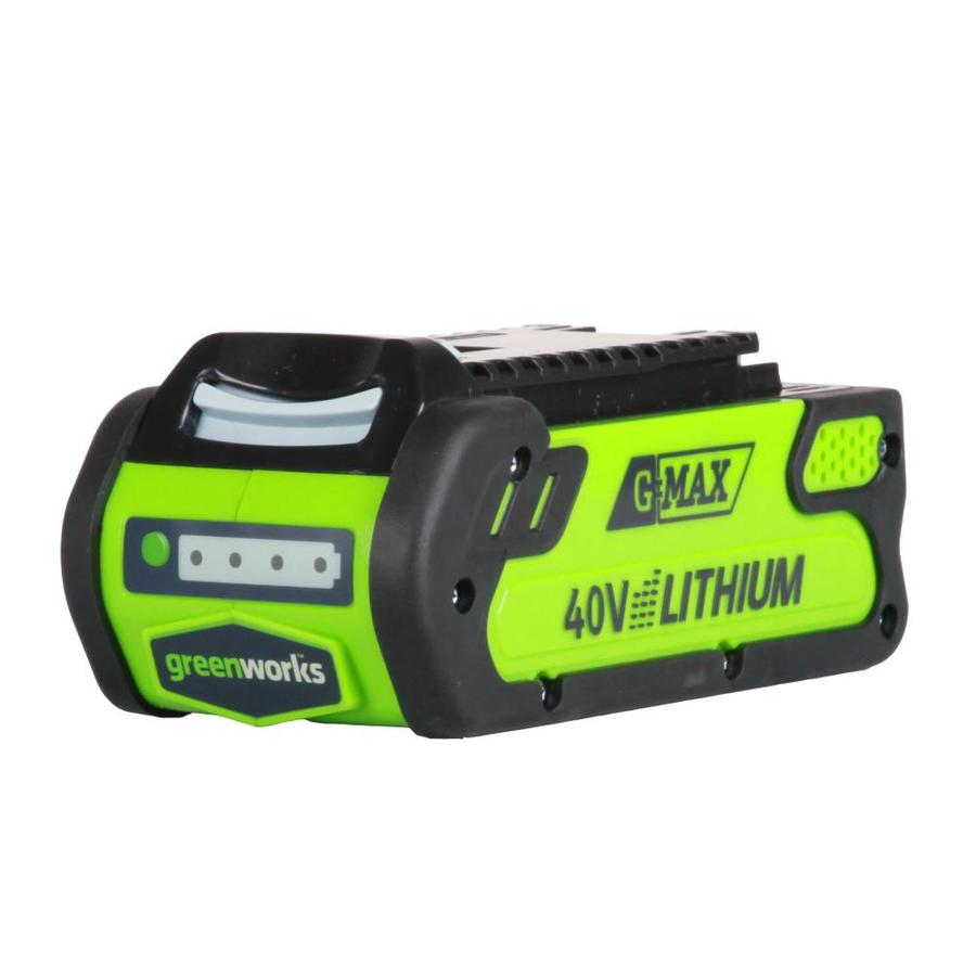 Greenworks 40-Volt 2-Amps Rechargeable Lithium Ion (Li-Ion) Cordless Power Equipment Battery 29462