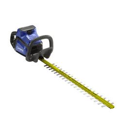 Shop Kobalt 40 Volt Max 24 In Dual Cordless Hedge Trimmer
