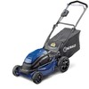 Lowes.com deals on Kobalt 40-Volt Max Lithium Ion 19-in Deck Electric Push Lawn Mower
