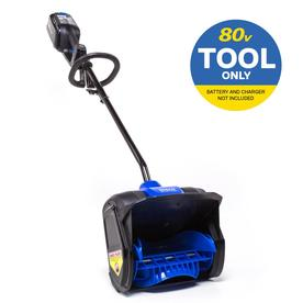 80-Volt Max 12-in Single-stage Cordless Electric Snow Blower Battery Not Included - Kobalt KSS 1280B-06