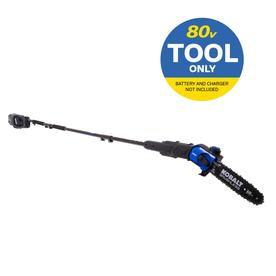 80-volt Lithium Ion 10-in Cordless Electric Pole Saw (Battery Not Included) - Kobalt KPS 1080B-06