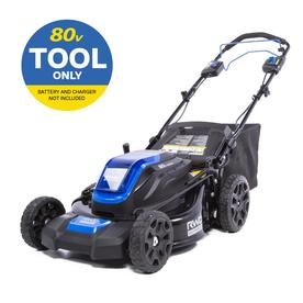 80-volt Self-propelled Brushless Lithium Ion 21-in Cordless Electric Lawn Mower - Kobalt KMP 2180B-06