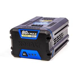 80-volt 3-Amp-Hours Rechargeable Lithium Ion Cordless Power Equipment Battery - Kobalt KB 380-06