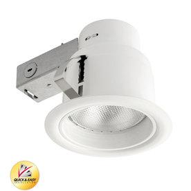 Upc 842235925129 Product Image For Utilitech White Baffle Remodel Recessed Light Kit Common