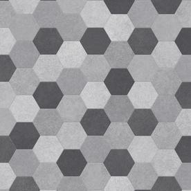 IVC Winner 6-ft W Sigma 595 Geometric Low-Gloss Finish Sheet Vinyl U9530.258C595P072