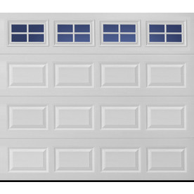 Merveilleux Display Product Reviews For Traditional 96 In X 84 In Insulated White  Single Garage