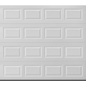 Superbe Display Product Reviews For Traditional 96 In X 84 In White Single Garage  Door