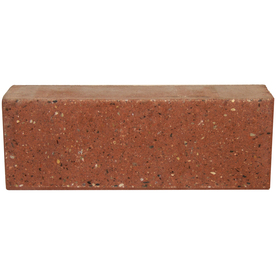 Shop Novabrik Colonial Red Brick Veneer Wainscot Cap at ...
