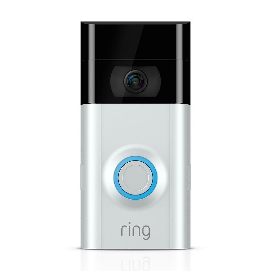 Ring Certified Refurbished Video Doorbell 2 - Removable Rechargeable Battery or Hardwired Smart Video Doorbell Camera | R8VRS7-0EN0