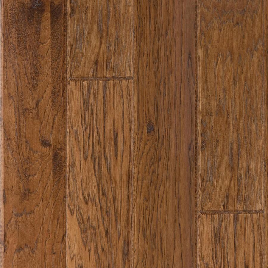 Shop Lm Flooring 0 377 In Hickory Locking Hardwood