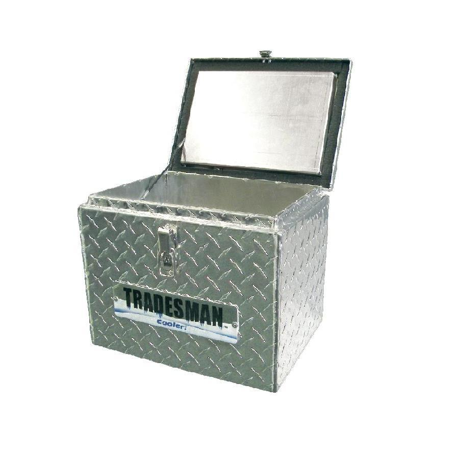Small Truck Tool Box >> Shop Tradesman 14-3/4-in x 13-in x 13-1/2-in Aluminum