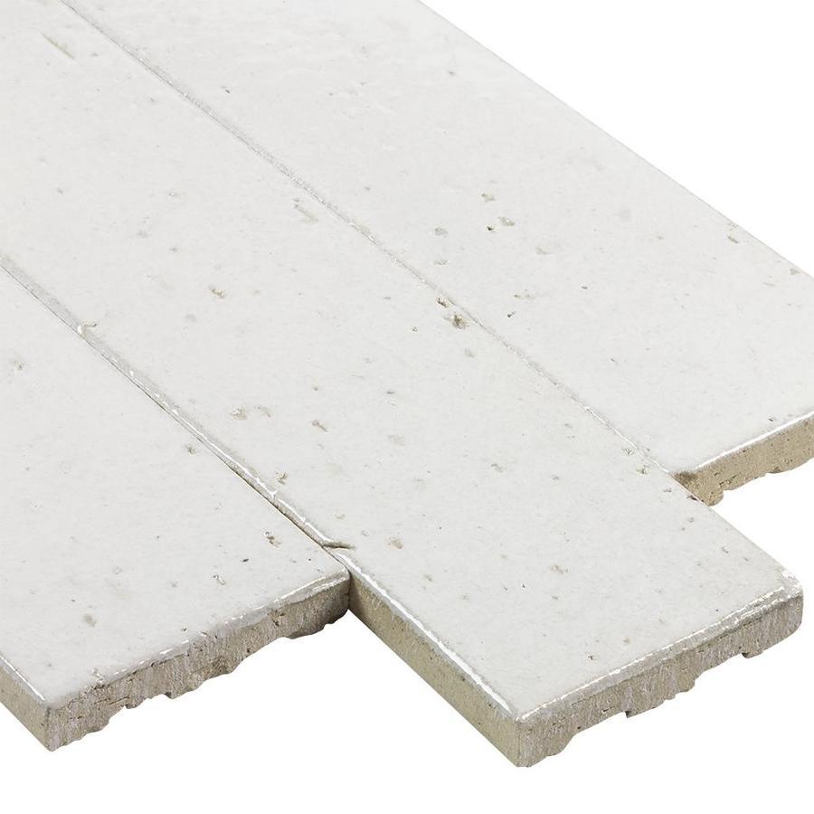 - Elida Ceramica White Painted Bricks White Painted Bricks 2-in X 9