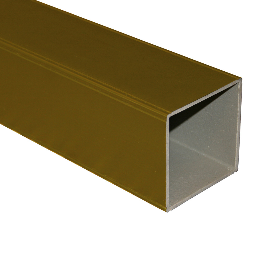 Shop Fiberon Brown Composite Deck Post Sleeve (Common: 4 X