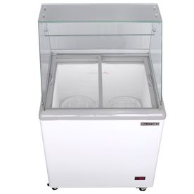 Maxx Cold 7.5-Cu Ft Commercial Chest Freezer White) Mxdc-4
