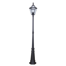 Display Product Reviews For 88 58 In H Specialty Textured Black Post Light