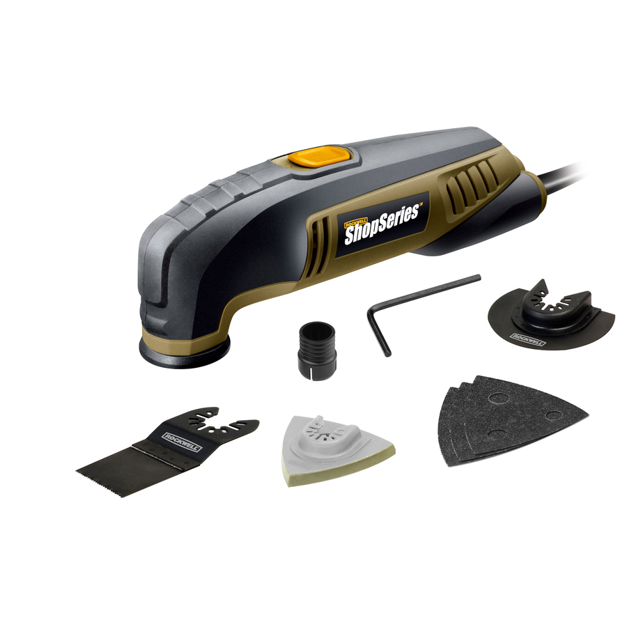 Shop ROCKWELL 2.3-Amp Oscillating Tool Kit At Lowes.com
