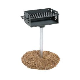 Ultra Play Ultrasite 300-Sq In Commercial Charcoal Grill ...