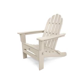 Trex Outdoor Furniture Cape Cod Folding Adirondack Chair Sand Castle