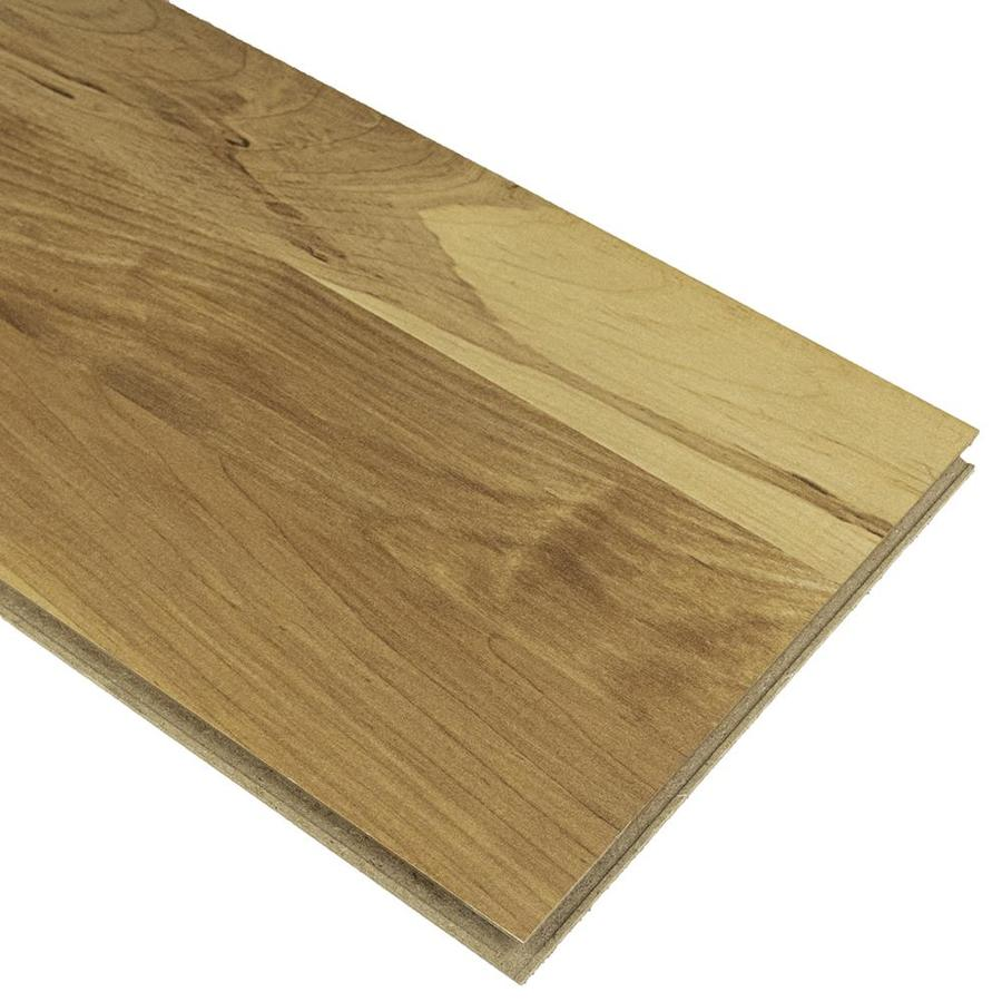 Style Selections Natural Maple 8 07 In W X 3 97 Ft L Smooth Wood