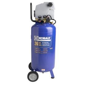 1.5-HP (Peak), 26-Gallon Air Compressor - Kobalt VLL1582609
