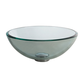 Display Product Reviews For Clear Tempered Glass Vessel Round Bathroom Sink