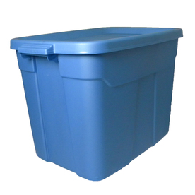 Display product reviews for Rugged Tote 72-Quart Blue Tote with Standard Snap Lid  sc 1 st  Loweu0027s & Shop Baskets u0026 Storage Containers at Lowes.com