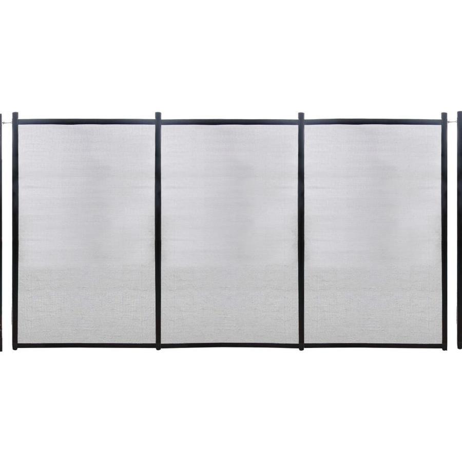 GLI In-Ground Steel Pool Fencing Panel 12-ft NE180F