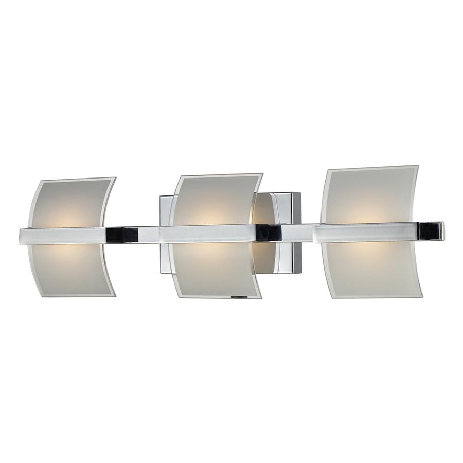 Shop Westmore Lighting 3 Light Aprokko Polished Chrome Led